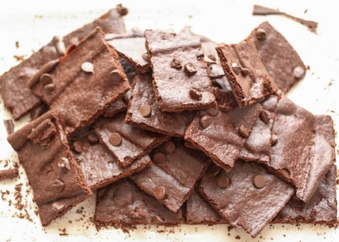 บราวนี่กรอบ (Crunchy Brownie)