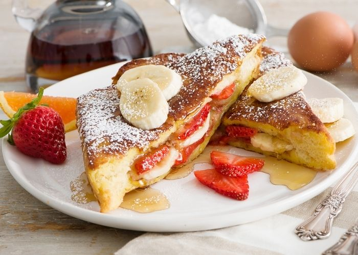 เฟรนช์โทสต์สตรอว์เบอร์รี (French Toast Strawberry)
